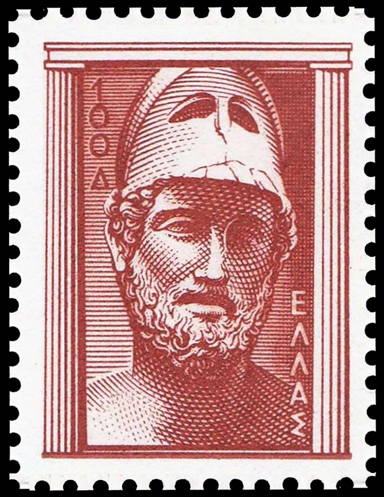 Ο Περικλής (από τις λέξεις περί και κλέος δηλαδή o περιτριγυρισμένος από δόξα, περίδοξος, περίπου 495-429 π.Χ.) ήταν Αρχαίος Έλληνας πολιτικός, ρήτορας και στρατηγός του 5ου αιώνα π.Χ., γνωστού και ως «Χρυσού Αιώνα», και πιο συγκεκριμένα της περιόδου μεταξύ των Περσικών Πολέμων και του Πελοποννησιακού Πολέμου.Ελληνικό γραμματόσημο.