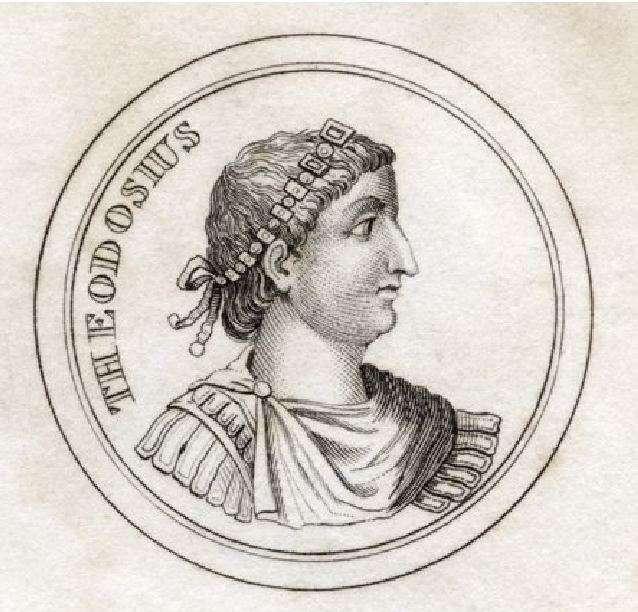 Ο Θεοδόσιος Α΄ (Flavius Theodosius Augustus, 11 Ιανουαρίου 347 – 17 Ιανουαρίου 395), γνωστός και ως Μέγας Θεοδόσιος, ήταν Ρωμαίος αυτοκράτορας από το 379 έως το 395, ως ο τελευταίος αυτοκράτορας τόσο στο ανατολικό όσο και στο δυτικό ήμισυ της Ρωμαϊκής Αυτοκρατορίας.