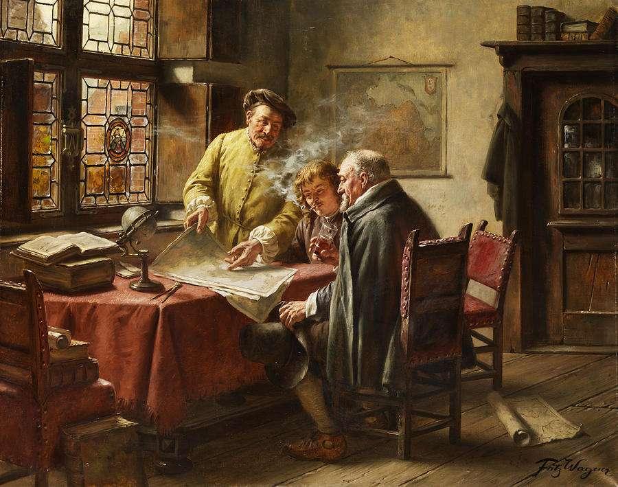 Fritz Wagner: Έμποροι