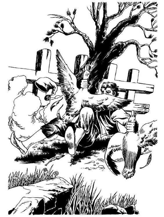 Ὁ Ἀναγνώστης ὁ Τσίντζουρας, μὴ καταγόμενος ἀπὸ τὸν τόπον, εἶχεν ἐγκατοικήσει ἀπὸ χρόνων, καὶ ἦτον ἤδη 40ούτης χωρὶς νὰ ἔχῃ σκεφθῆ ποτὲ νὰ νυμφευθῇ. Ἦτον μάστορης κ᾿ ἔπαιρνε σπίτια, κουτουράδα* ἢ μεροκάματο, νὰ τὰ ξανασύρῃ*· κατεσκεύαζε πόρτες, παράθυρα, ἐπερνοῦσε τζάμια, ἐσουβάντιζε καὶ ἐχρωμάτιζε.