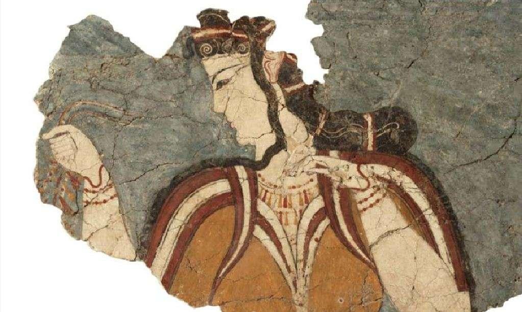 Η «Μυκηναία». 13ος αιώνας π. Χ. Εθνικό Αρχαιολογικό Μουσείο. Αθήνα.