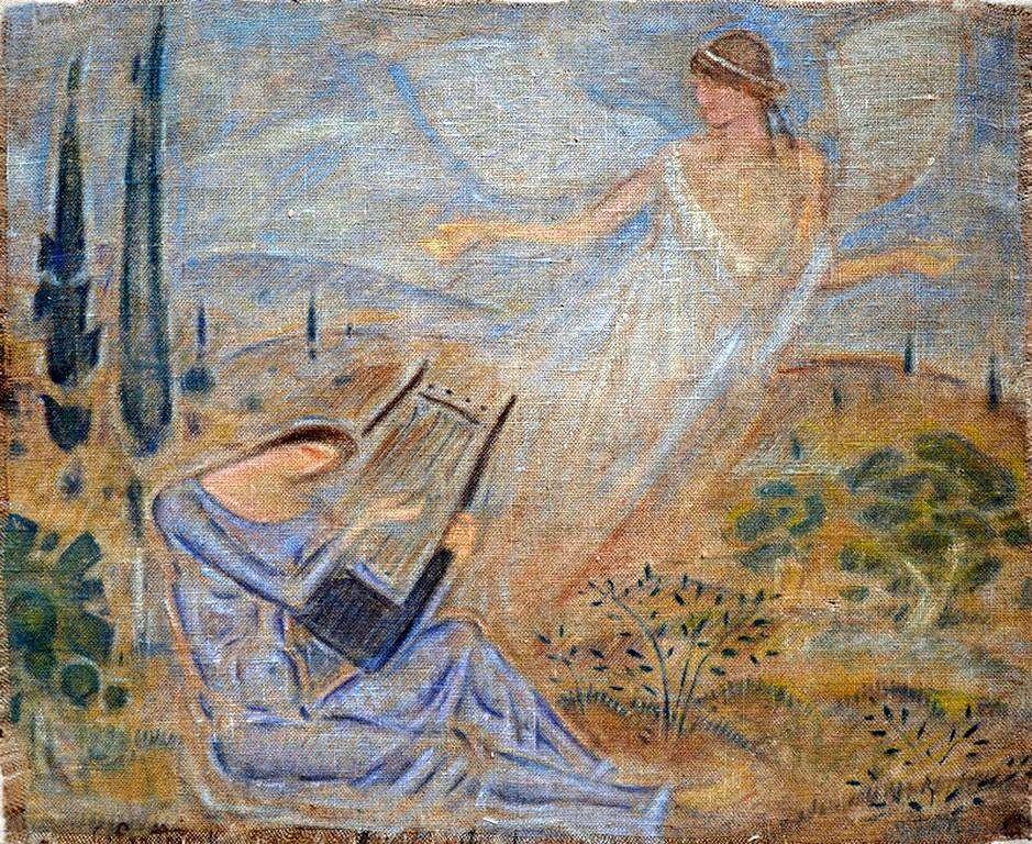Κωνσταντίνος Παρθένης - Η Καλυψώ και το πνεύμα.