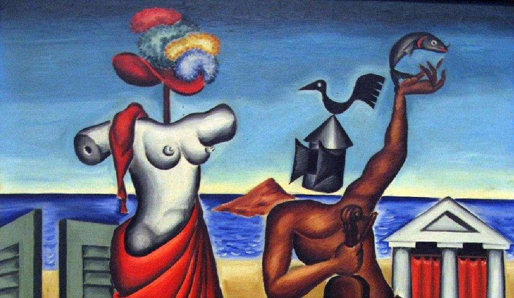 Νίκος Εγγονόπουλος. «Δήλος», 1939. (λεπτομέρεια)