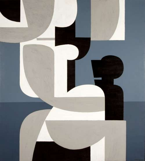 Γιάννης Μόραλης (1925) «Πανσέληνος Λ».