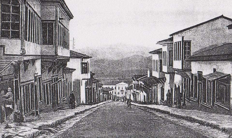 Μια παλιά φωτογραφία: Τα Σέρβια  (1884-86)