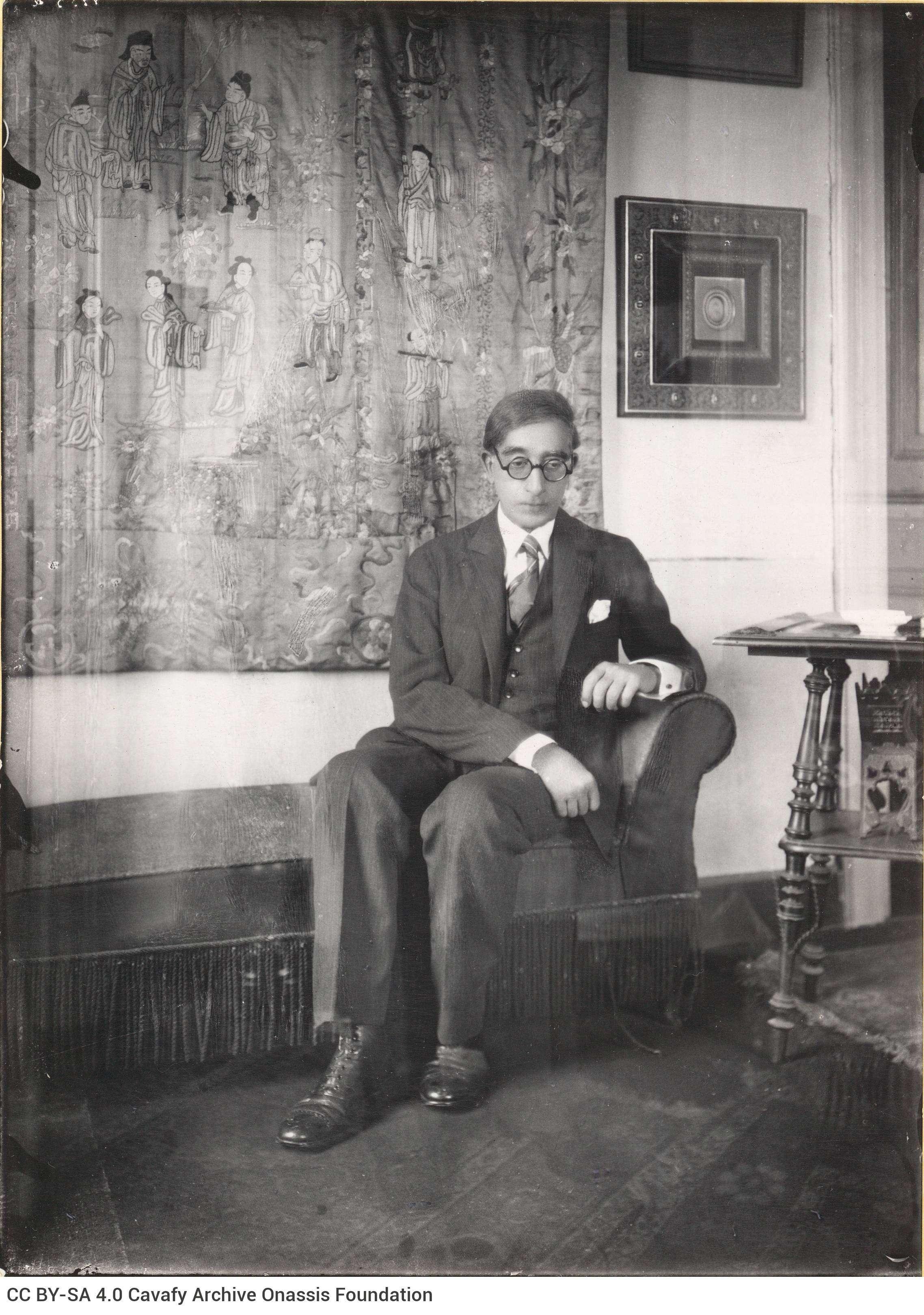 Ο Κωνσταντίνος Καβάφης (Αλεξάνδρεια, 29 Απριλίου 1863 (17 Απριλίου με το π.η.) - Αλεξάνδρεια, 29 Απριλίου 1933) ήταν ένας από τους σημαντικότερους Έλληνες ποιητές της σύγχρονης εποχής.