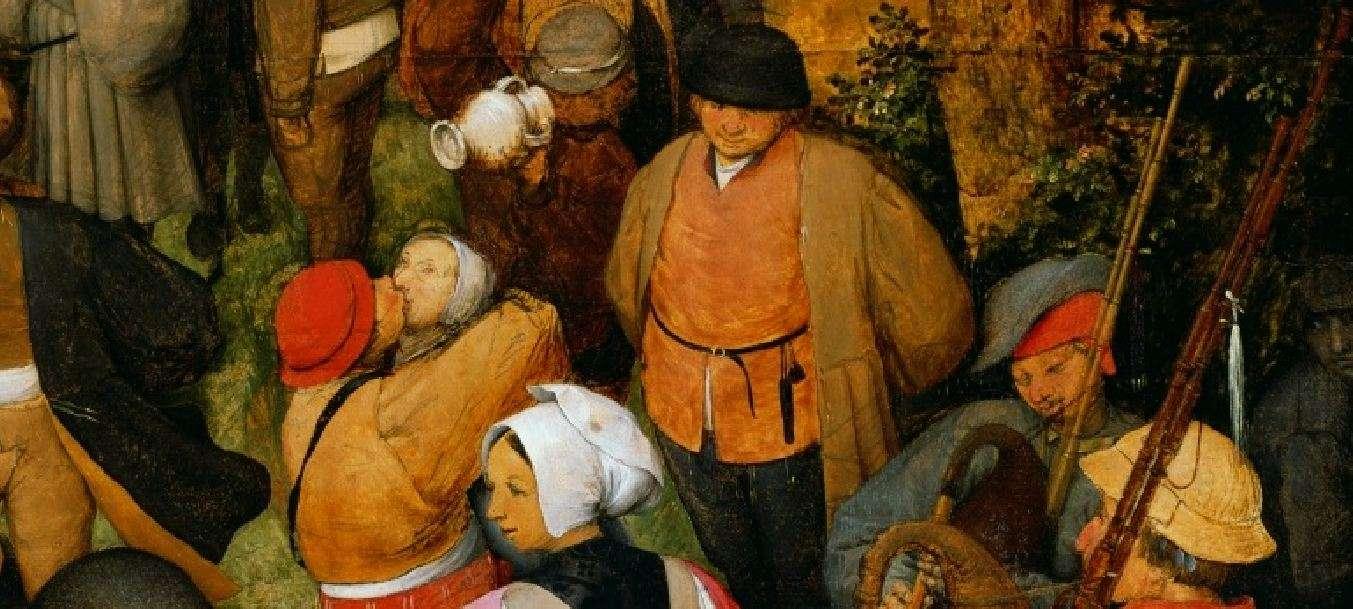 Πίτερ Μπρίγκελ ο πρεσβύτερος (περ. 1525-1530 - Βρυξέλλες, 1569). Γαμήλιος χορός. (λεπτομέρεια)