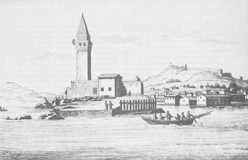Το φρούριο της Ζακύνθου. Έργο του S. Pomardi. 1820.