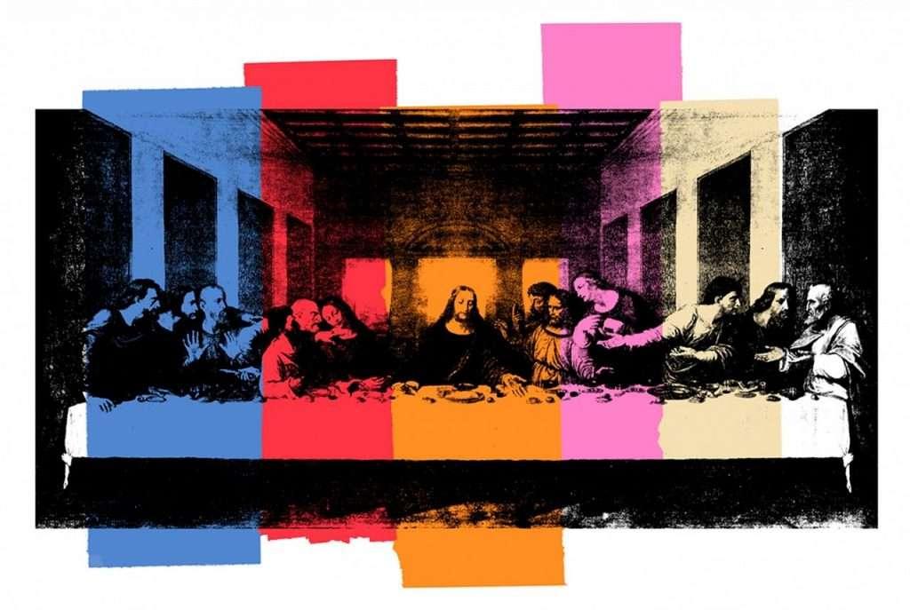 Άντι Γουόρχολ. Andy Warhol. Μυστικός Δείπνος