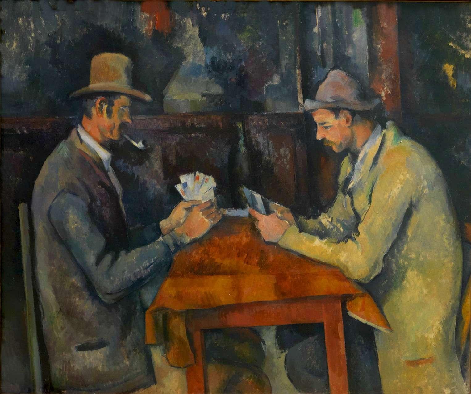 Πωλ Σεζάν. Οι χαρτοπαίκτες, 1892-1895 Courtauld Institute of Art.