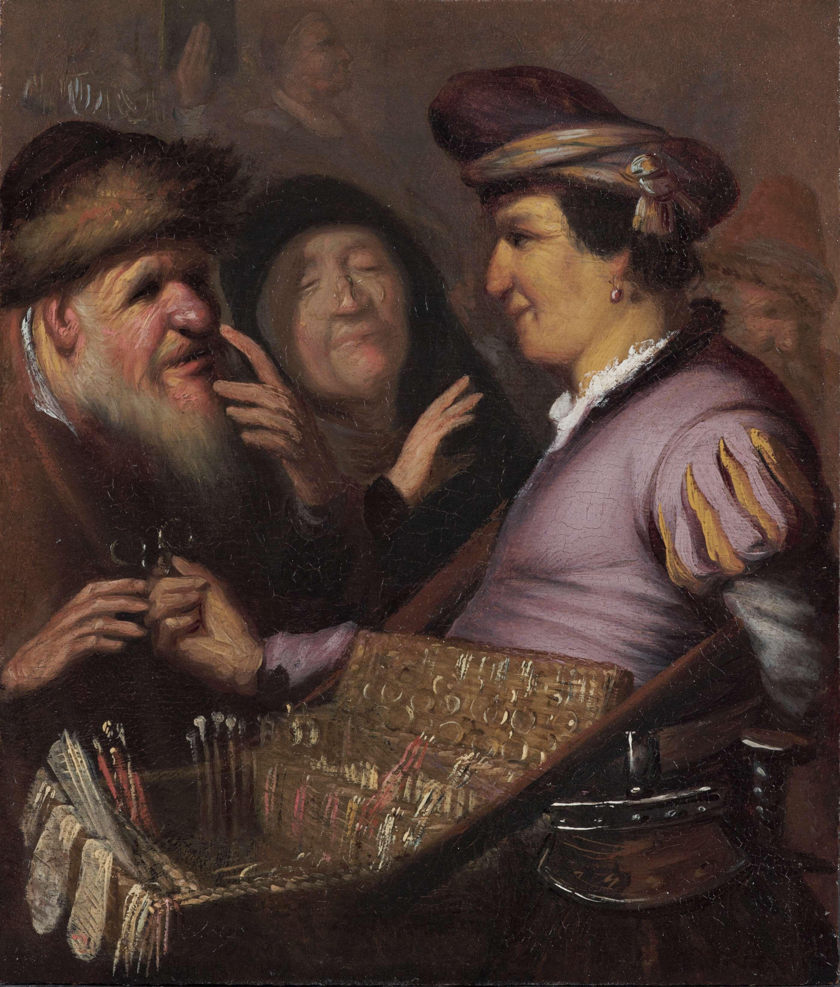 Ρέμπραντ Χάρμενσοον φαν Ράιν (15 Ιουλίου 1606 - 4 Οκτωβρίου 1669). Ο πλανόδιος οπτικός (Όραση).