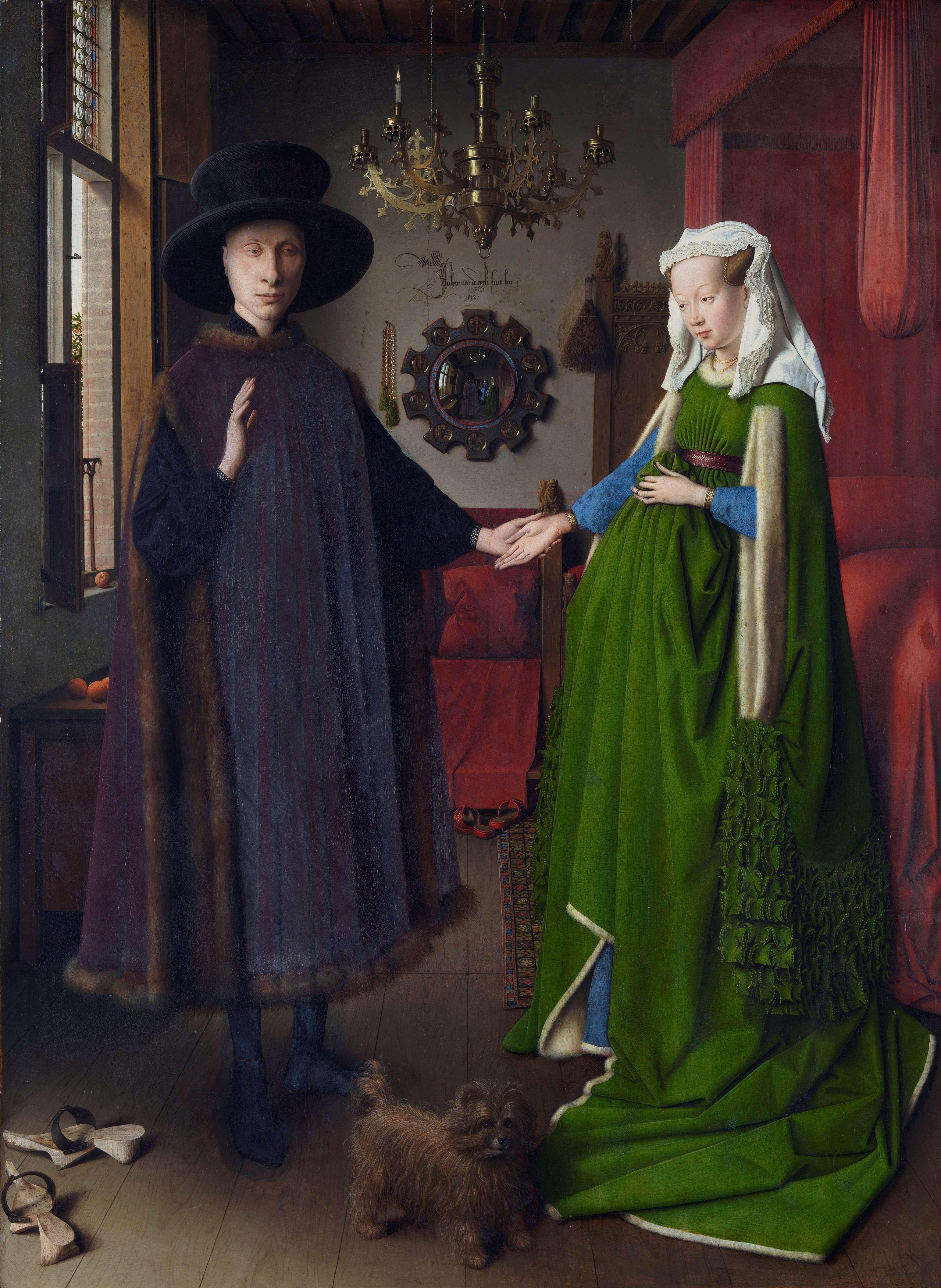 Ο Γάμος των Αρνολφίνι (πίνακας γνωστός και σαν Το Πορτρέτο των Αρνολφίνι ή Οι αρραβώνες των Αρνολφίνι) είναι ελαιογραφία του Φλαμανδού ζωγράφου Γιαν βαν Άικ, που φιλοτεχνήθηκε το 1434 και σήμερα βρίσκεται στην Εθνική Πινακοθήκη του Λονδίνου.