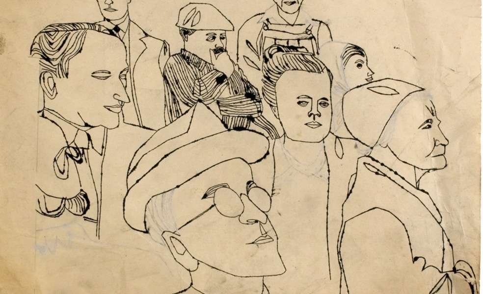 «Early Works of Andy Warhol»