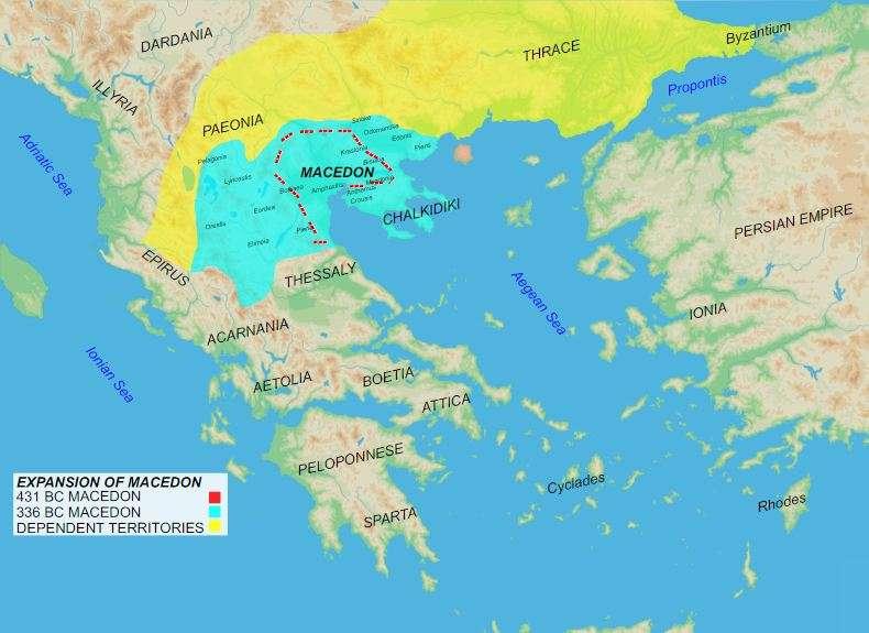 Το Μακεδονικό βασίλειο την εποχή του Φιλίππου Β'