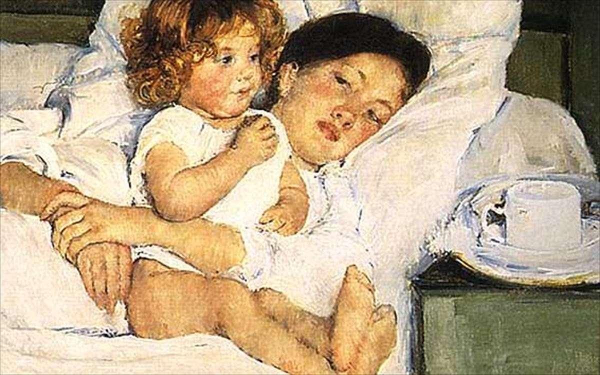 Μητέρα και παιδί. Mary Cassat
