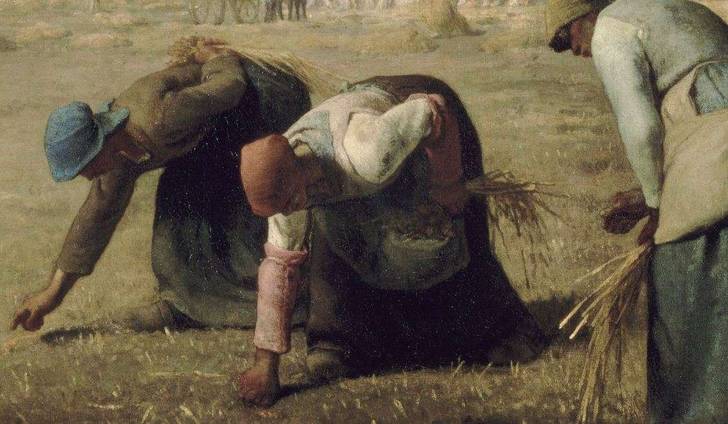 Jean François Millet, Oι συλλέκτριες, 1857. Musée d' Orsay.
