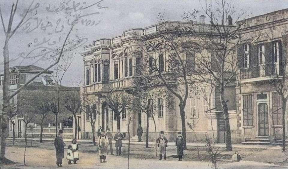 Η Αλεξανδρούπολη («Δεδέαγατς») στα 1905.