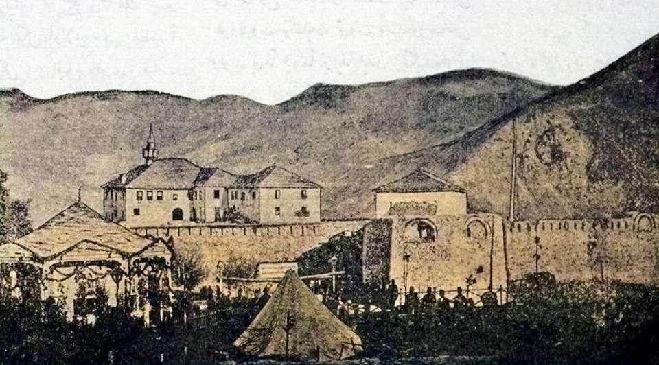 Οθωμανικές στρατιωτικές εγκαταστάσεις στο Μέτσοβο (1896)