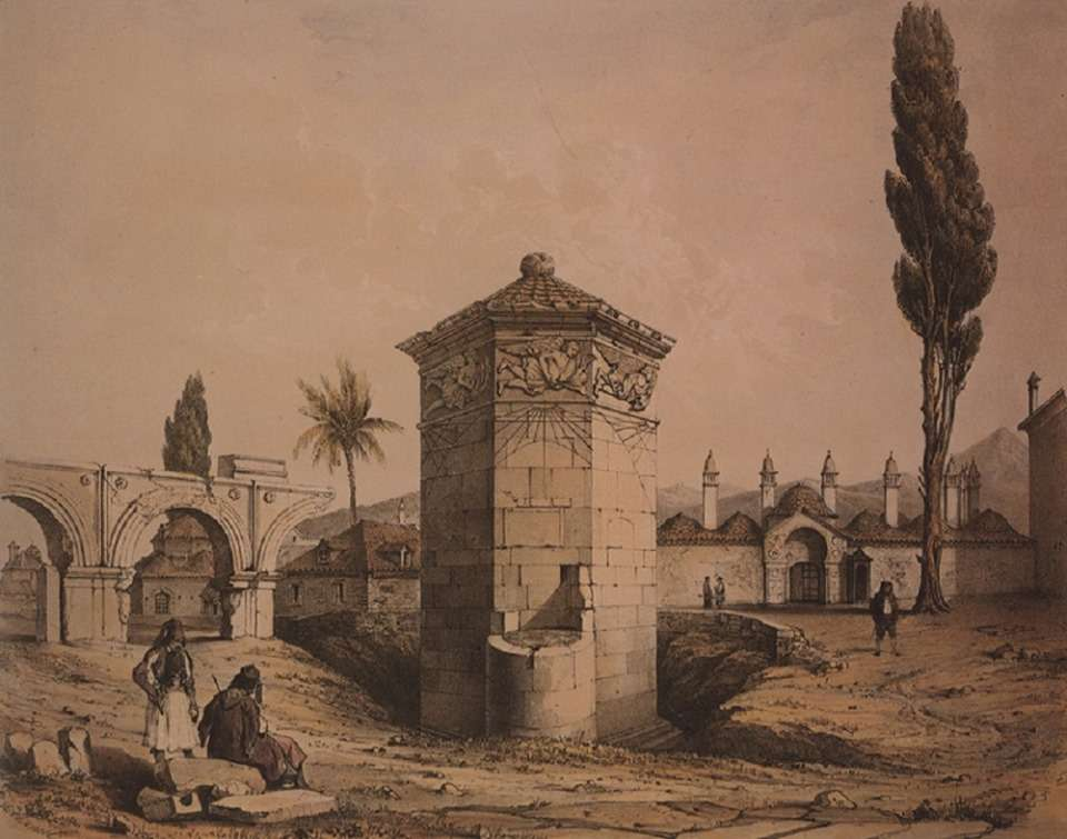 Το Ωρολόγιο του Κυρρήστου, γνωστό και ως «Αέρηδες», ανεγέρθηκε από τον Έλληνα αστρονόμο Ανδρόνικο από την Κύρρο της Μακεδονίας (ή Μακεδονικής Συρίας) (α΄ μισό του 1ου αιώνα π.Χ.), ανατολικά του αρχαιολογικού χώρου του μικρού πρόπυλου της Ρωμαϊκής Αγοράς στην Αθήνα. Εδώ σε απεικόνιση του 1840.