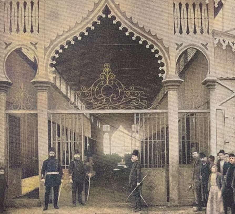 Ψαραγορά στη Θεσσαλονίκη (1895)