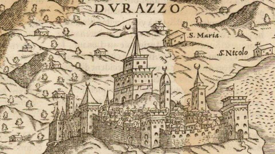 Δυρράχιο, Αλβανία, 1575
