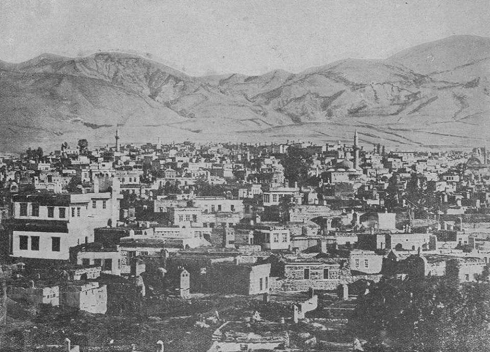 Το Ερζερούμ, ιστορικά γνωστό ως Θεοδοσιούπολη, στα 1900.