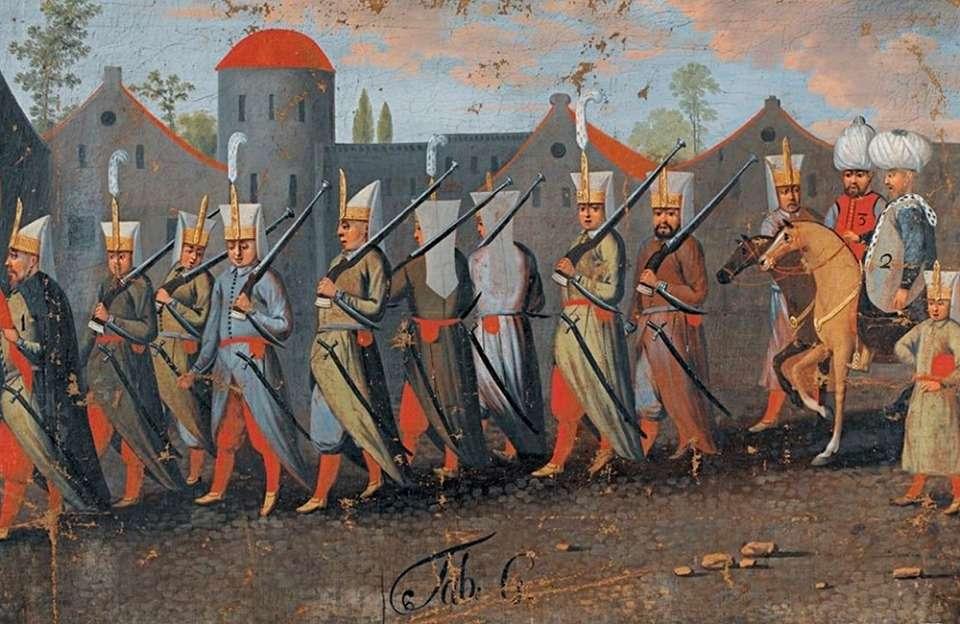 Γενίτσαροι στην Κωνσταντινούπολη (1670)