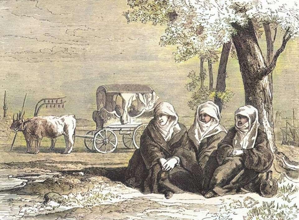 Οθωμανές γυναίκες (τέλη 19ου αιώνα)