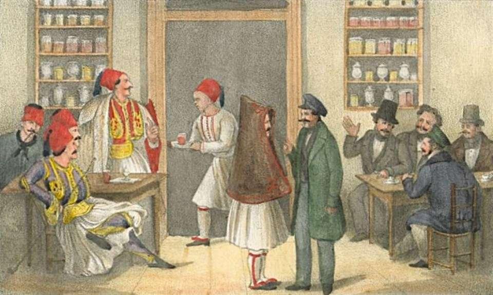 Ιστορικές απεικονίσεις της οθωμανικής περιόδου