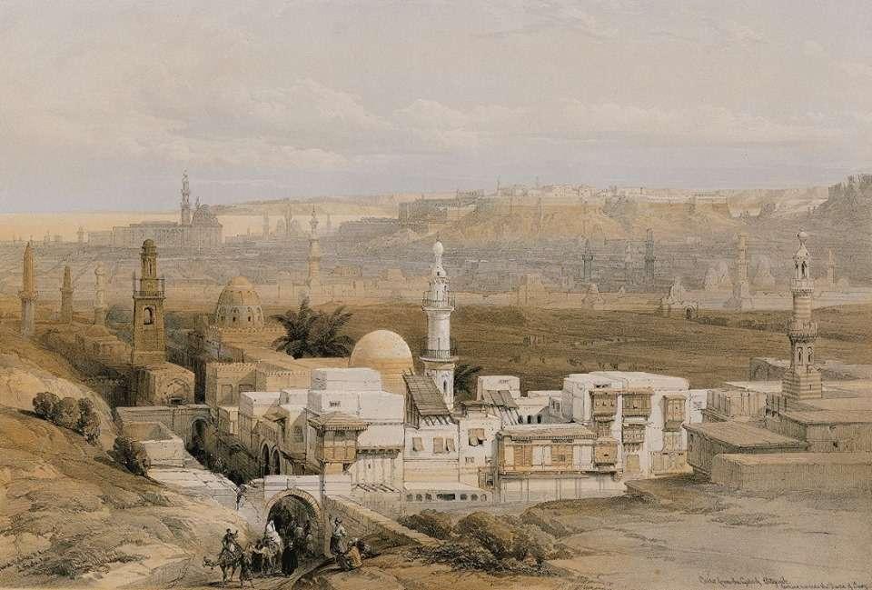Κάιρο. Αίγυπτος (1849)