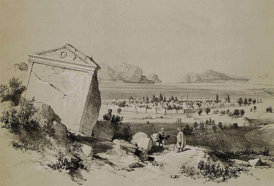 Το Ιζνίκ, η αρχαία ελληνική Νίκαια. (19ος αιώνας)