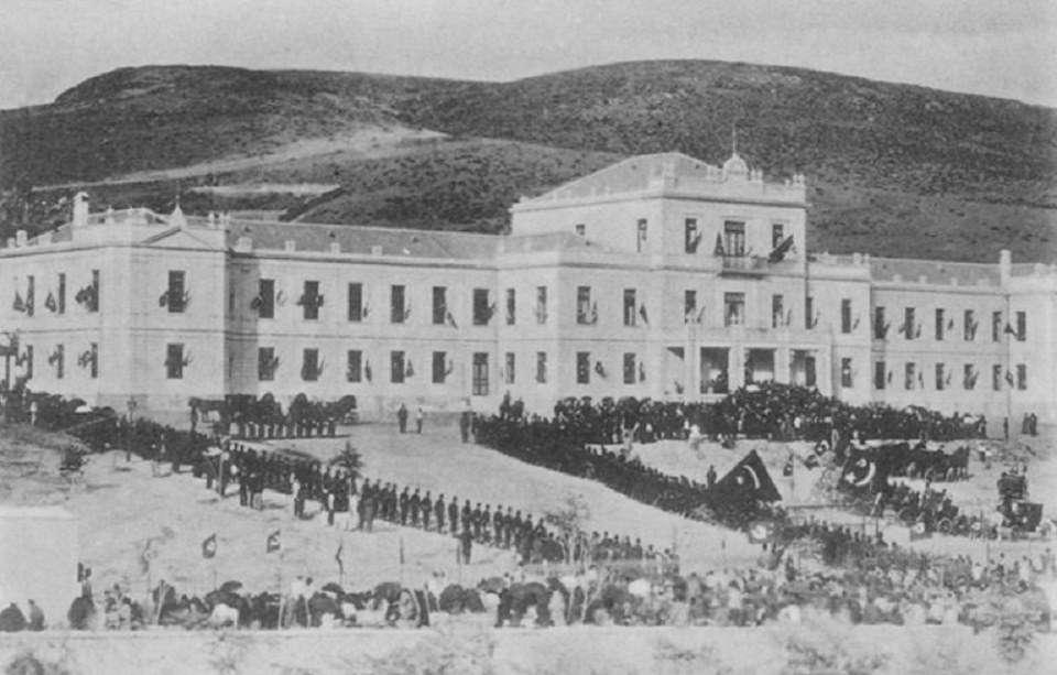 Εγκαίνια οθωμανικού νοσοκομείου στη Θεσσαλονίκη. (1902)
