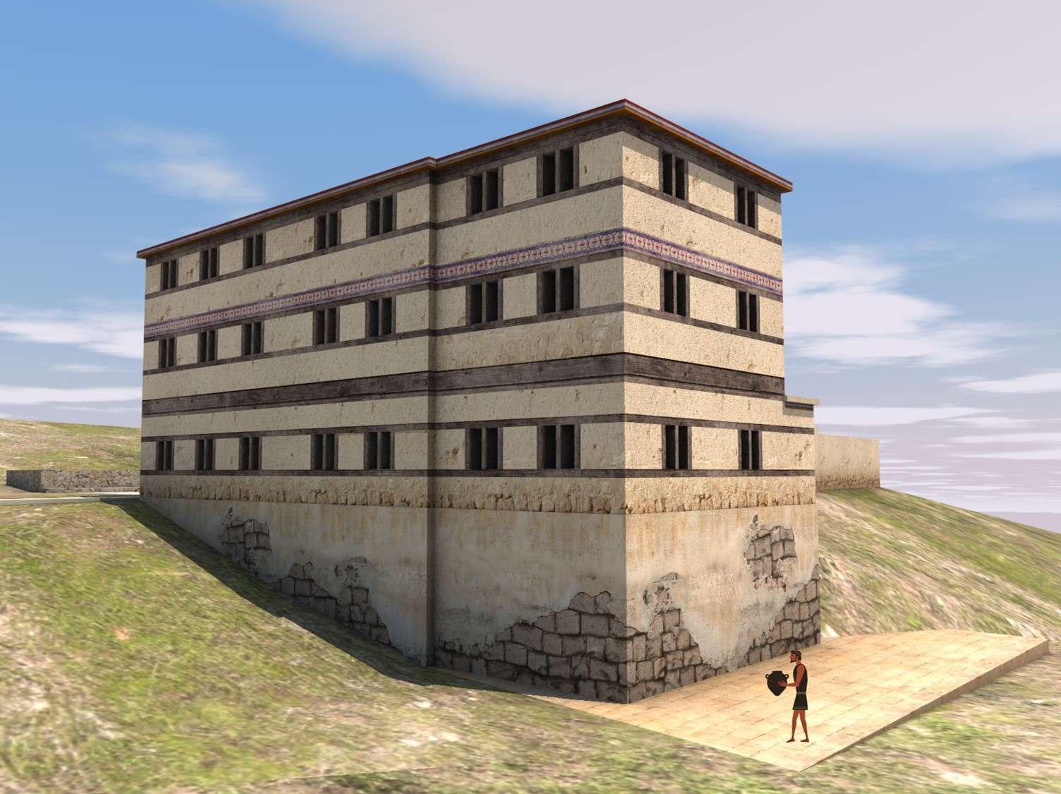 Αρχαία Ίκλαινα. Ψηφιακή αναπαράσταση
