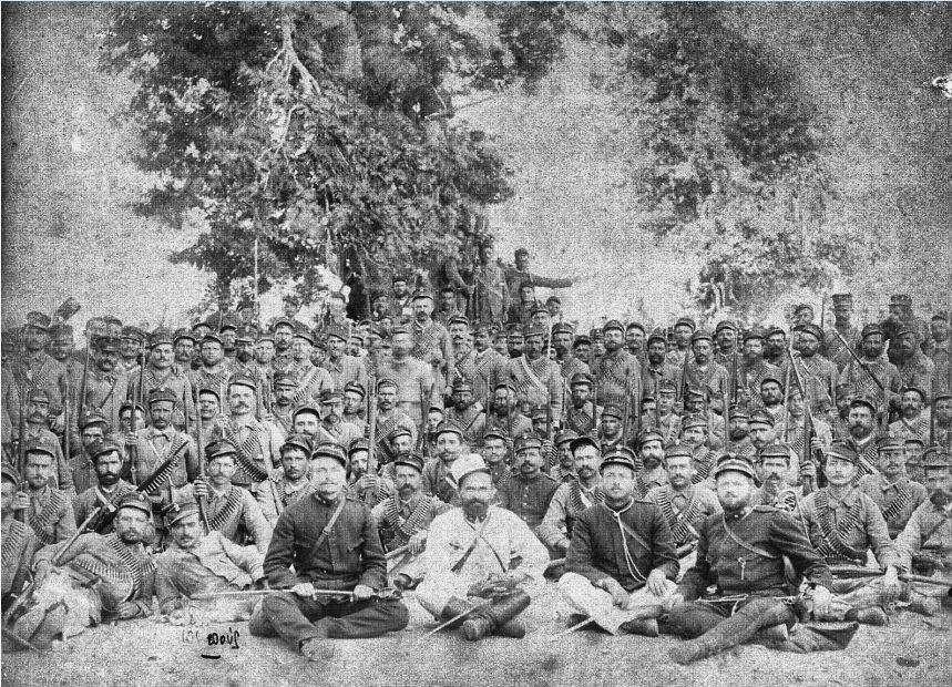 Έλληνες στρατιώτες στη Φθιώτιδα.