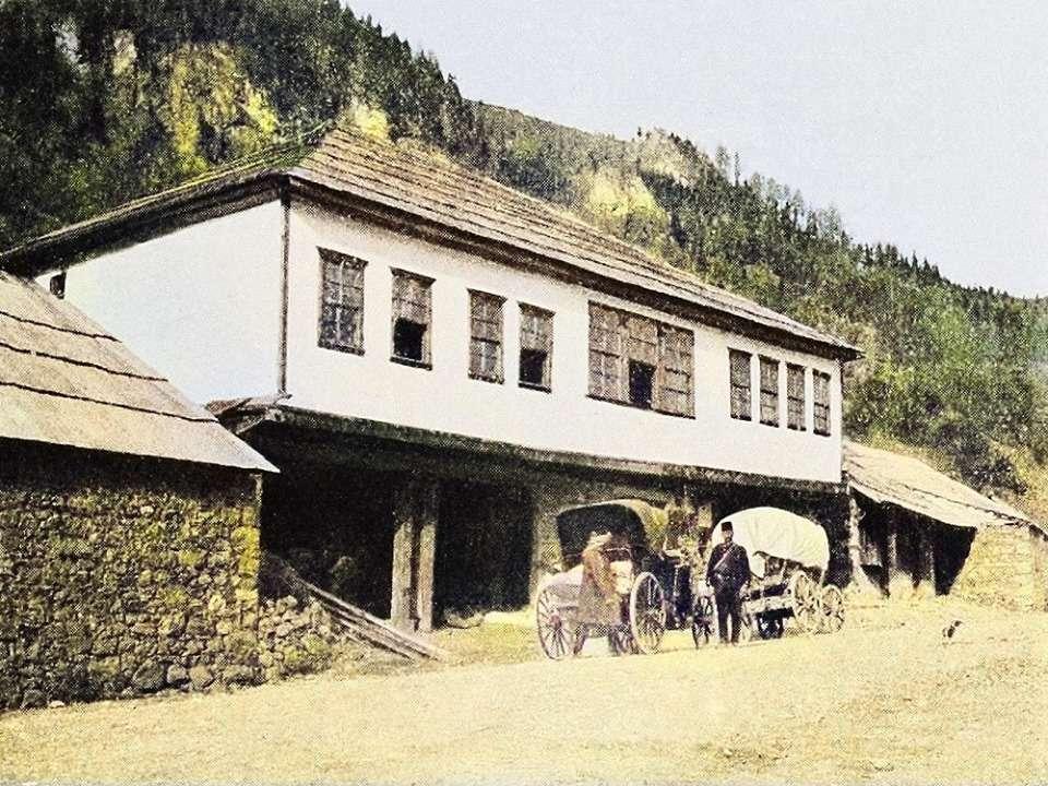 Πανδοχείο («χάνι») στην Τραπεζούντα (1900)
