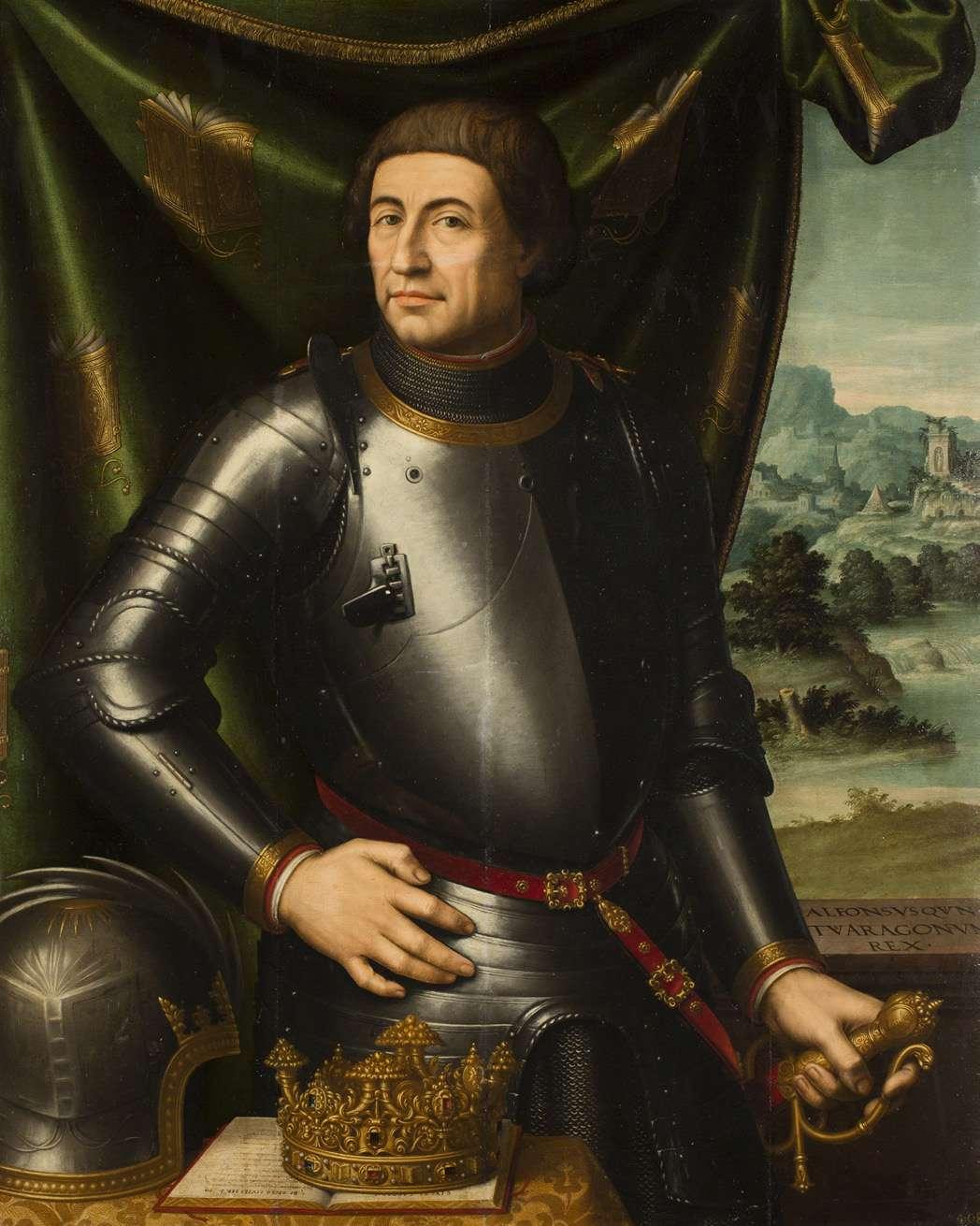 Αλφόνσο Ε΄ της Αραγονίας.