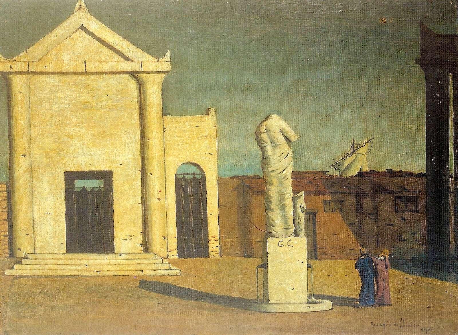 Τζόρτζο ντε Κίρικο. Giorgio de Chirico (10 Ιουλίου 1888 – 20 Νοεμβρίου 1978.)