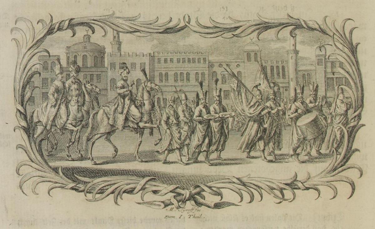 Γενίτσαροι, 1745.