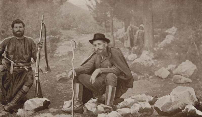Ο Ελευθέριος Βενιζέλος στην Κρήτη, 1907.