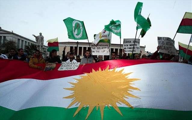 Και μόνο οι Κούρδοι μαχητές, υπερασπίζονται τις πανανθρώπινες αξίες της ελευθερίας, της εθνικής αυτοδιάθεσης, αλλά και του αγώνα ενάντια στην βαρβαρότητα του ισλαμικού τζιχαντισμού και του κράτους-προστάτη του.
