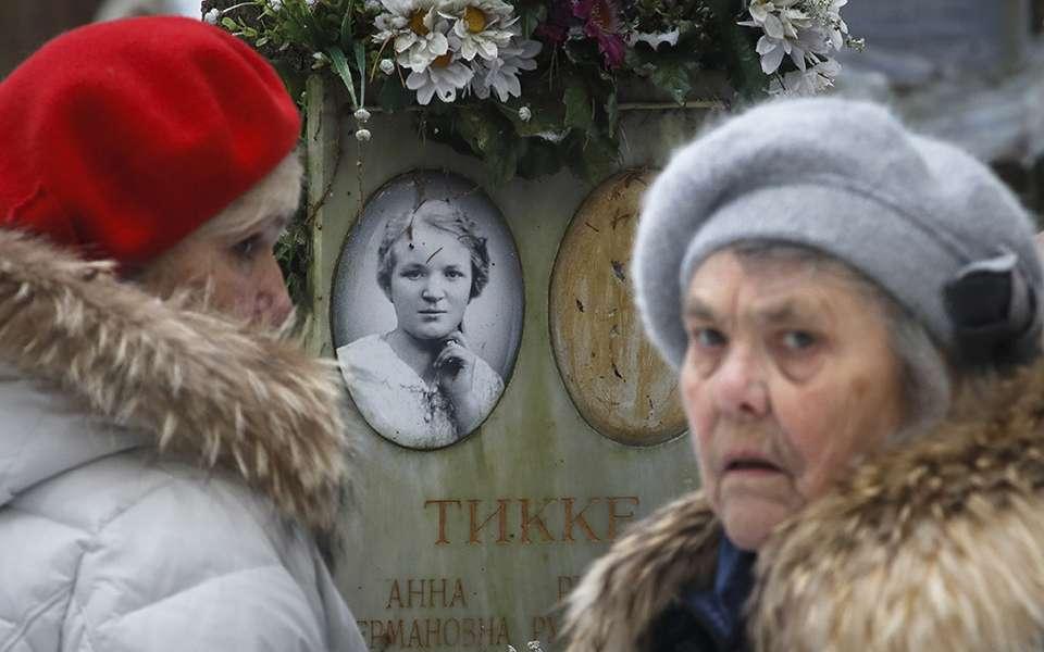 Οι Ρώσοι τιμούν τους νεκρούς του Μεγάλου Τρόμου