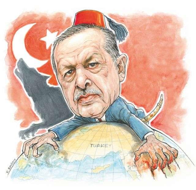 Μέσα σε αυτό το νέο σύστημα που δημιουργείται, η Τουρκία, που το κάνει ήδη εδώ και πολλά χρόνια και το κάνει με επιτυχία, θέλει να εξελιχθεί σε έναν από τους πρωτεύοντες πόλους ισχύος του πλανήτη.