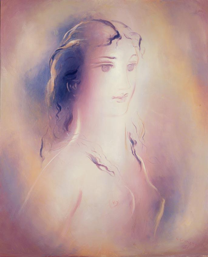 Γιώργος Γουναρόπουλος (1889-1977). Γυναικεία μορφή.