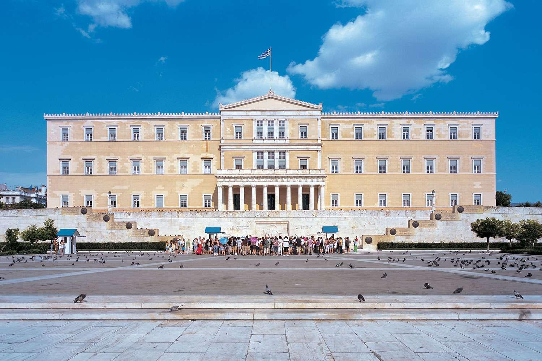 Η Βουλή των Ελλήνων.
