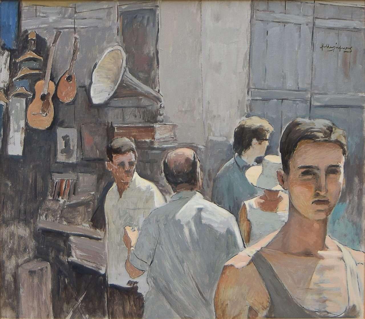 Κώστας Μαλάμος. (1913 – 2007).
