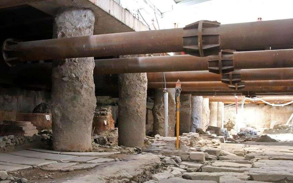 Αρχαιολογικά ευρήματα από το Μετρό της Θεσσαλονίκης