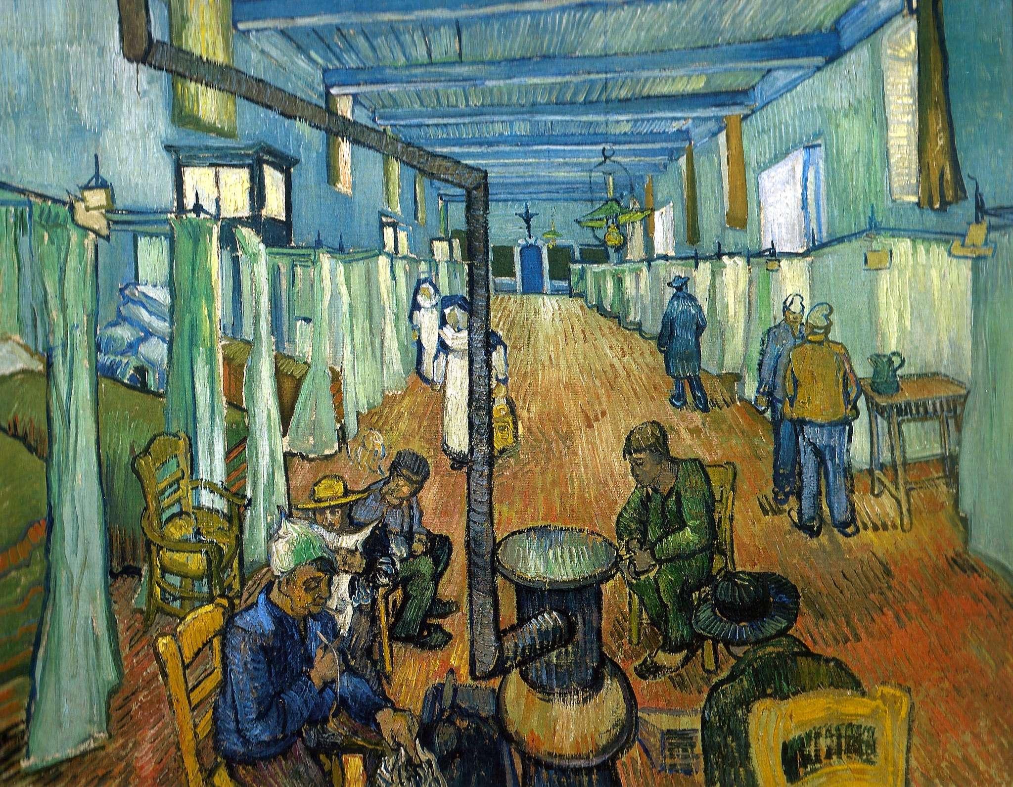 Θάλαμος του νοσοκομείου της Αρλ, 1889, Βίντερτουρ (Ελβετία), Sammlung Oskar Reinhart «Am Römerholz»