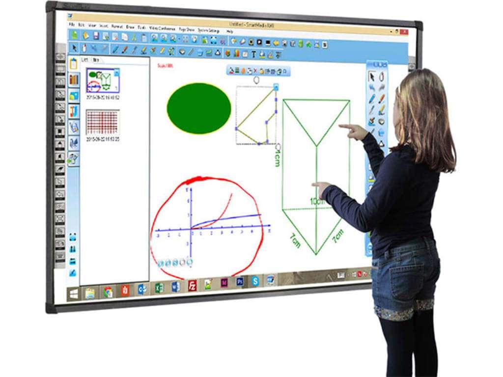 Ο διαδραστικός πίνακας (Interactive whiteboard) είναι μια ψηφιακή συσκευή που συνδέεται με έναν υπολογιστή (Computer) και έναν προβολέα (Data projector).