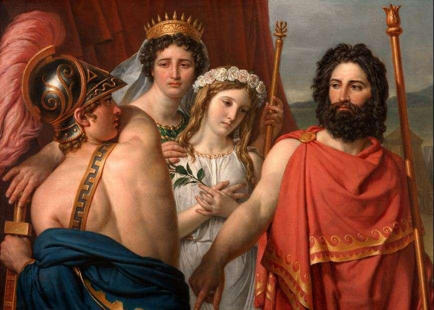 Η οργή του Αχιλλέα είναι έργο του γάλλου ζωγράφου Jacques-Louis David, 1819.