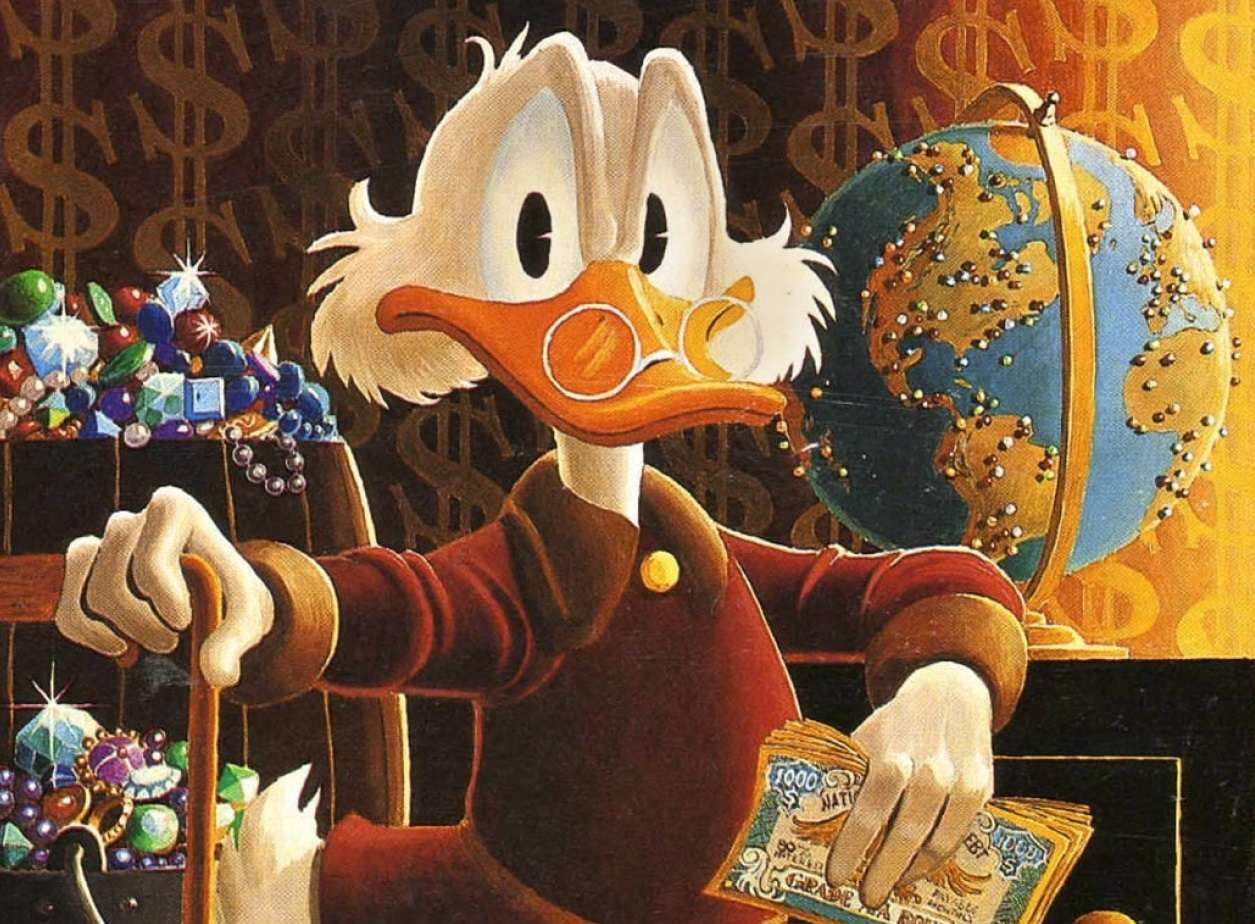 Ο Σκρουτζ Μακ Ντακ ή Θείος Σκρουτζ (Αγγλικά: Scrooge McDuck ή Uncle Scrooge) είναι φανταστικός χαρακτήρας της Ντίσνεϊ.